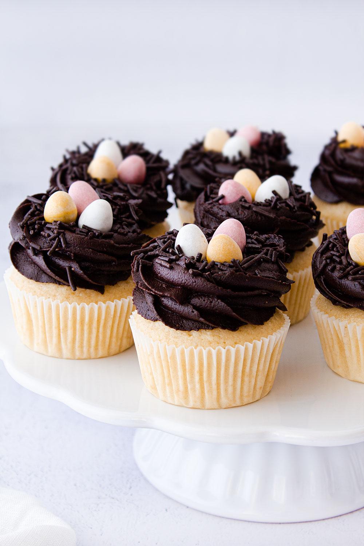 Schokoladen Eierlikör Cupcakes