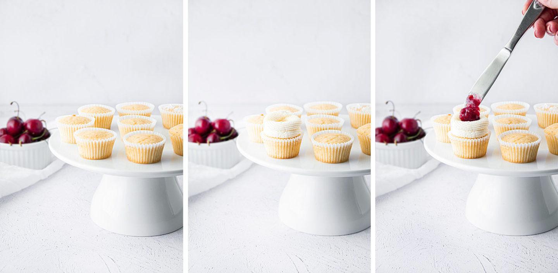 Kirsch-Cupcakes