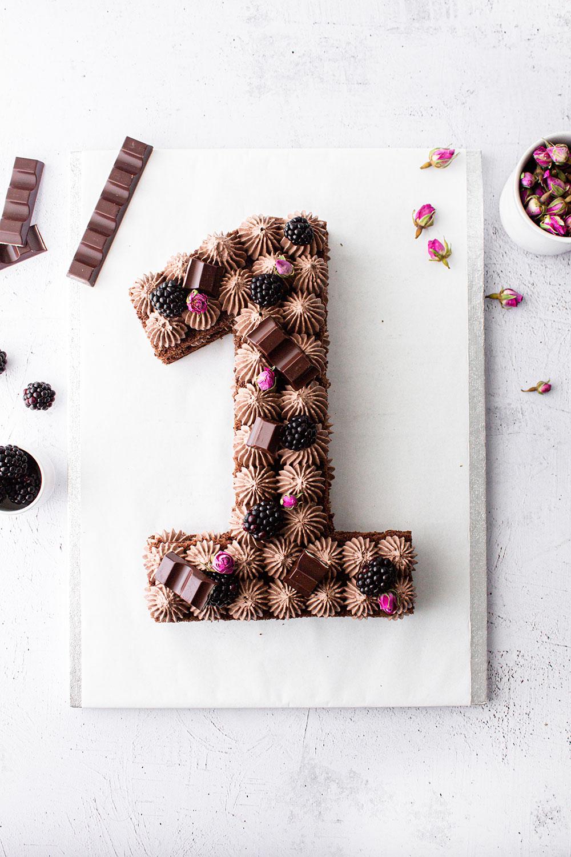Number Cake Schokolade