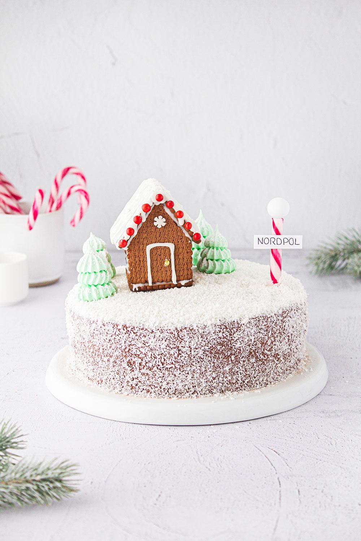 Naked Cake Winter Wonderland