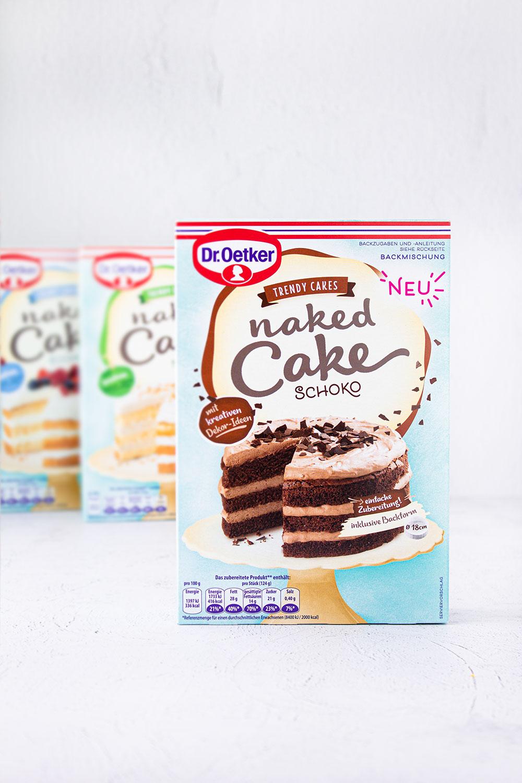 Naked Cake Schokolade