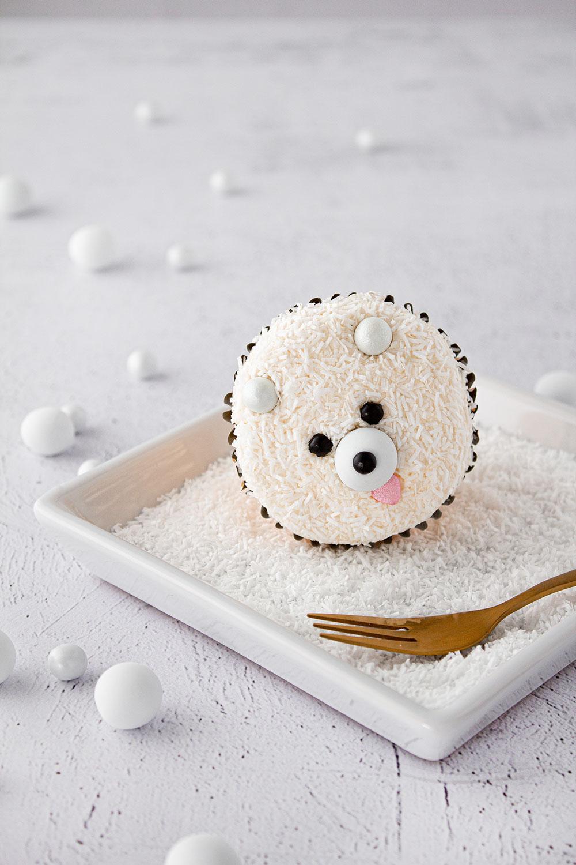 Eisbär Cupcake vorne