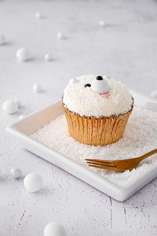 Eisbär Cupcake Seite