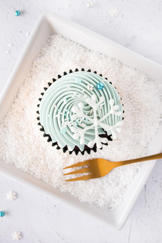 Himbeer Schoko Cupcakes