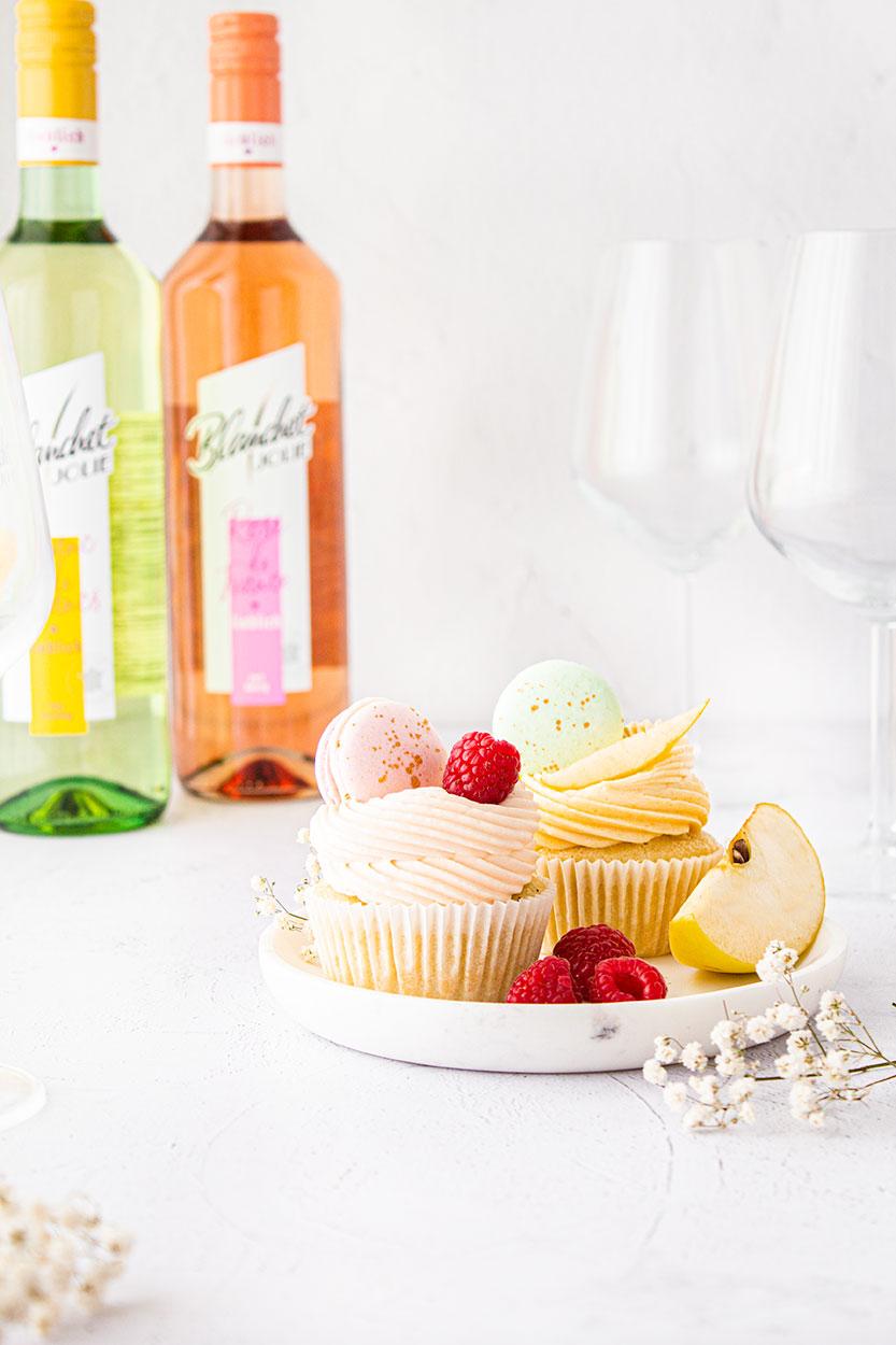 Wein Cupcakes