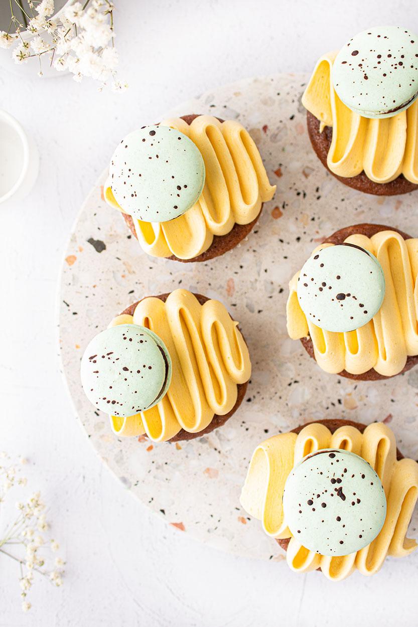 Eierlikör Cupcakes
