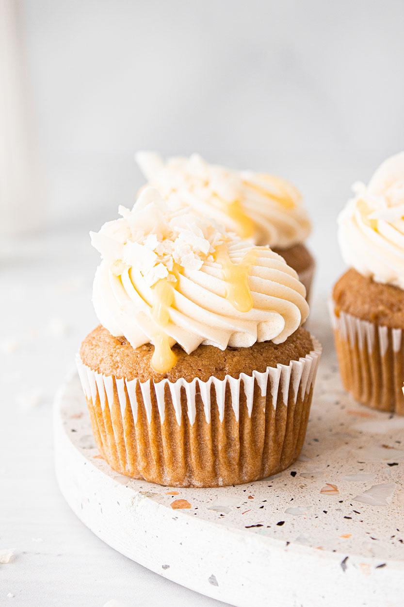Malibu Maracuja Cupcakes